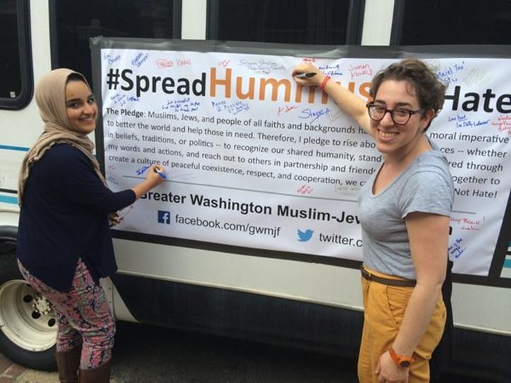 Washington – Muslim, Jewish Activists To Promote Peace On DC Bus Tour