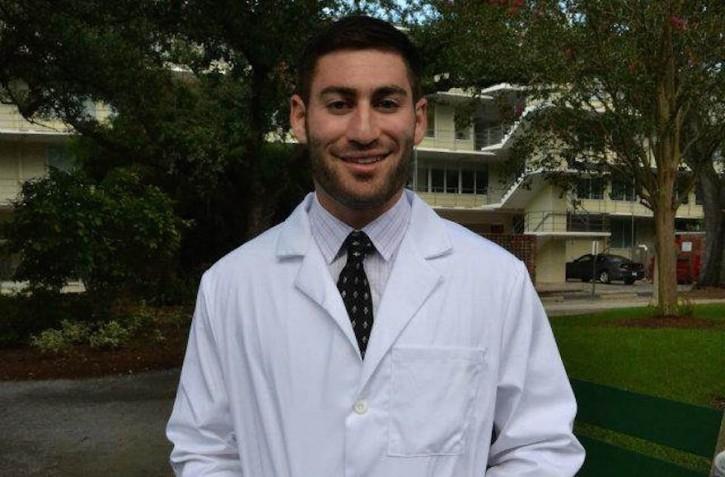 Tulane University medical student Peter Gold