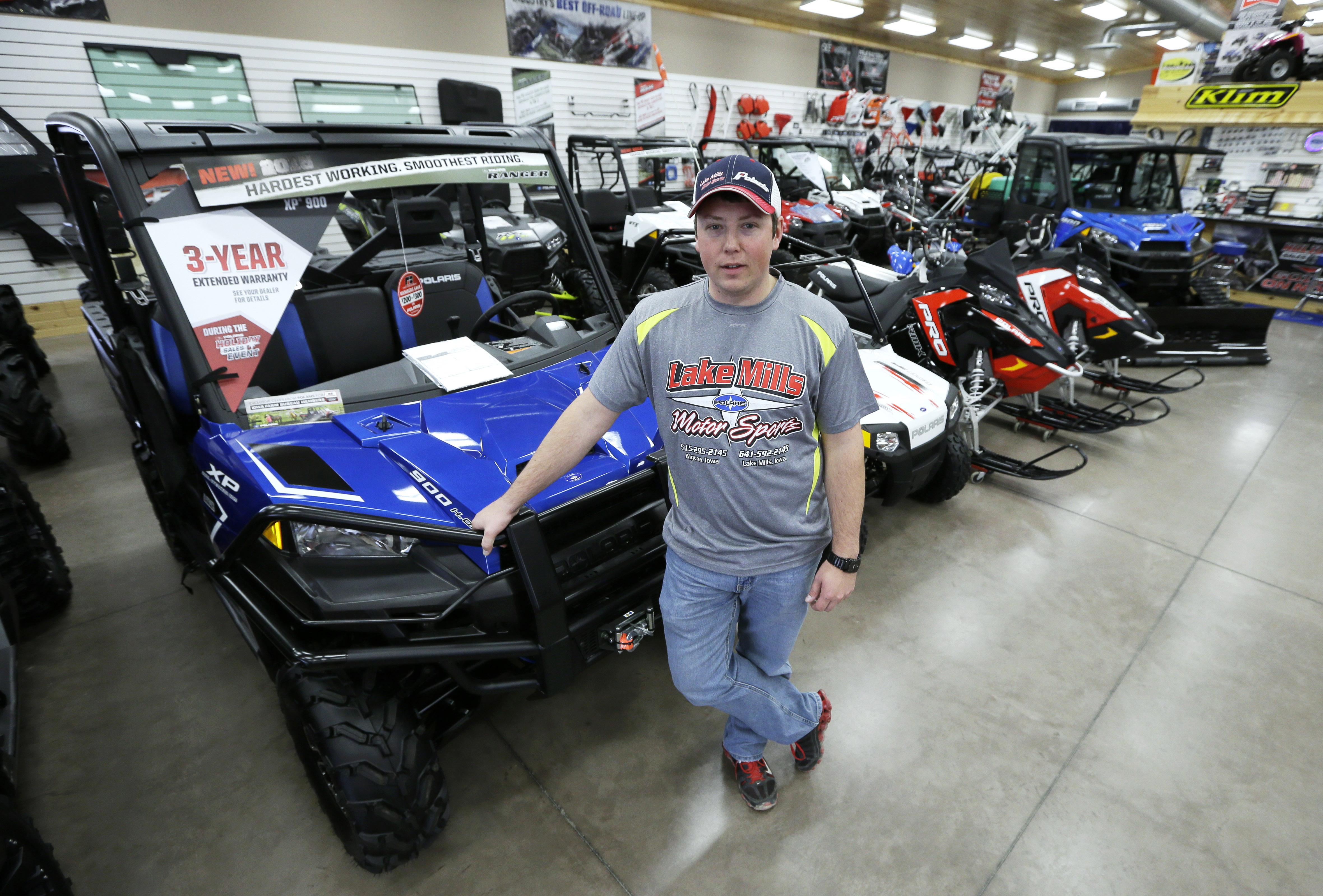 Des Moines Iowa ATV Riders Challenge Longtime Bans Use
