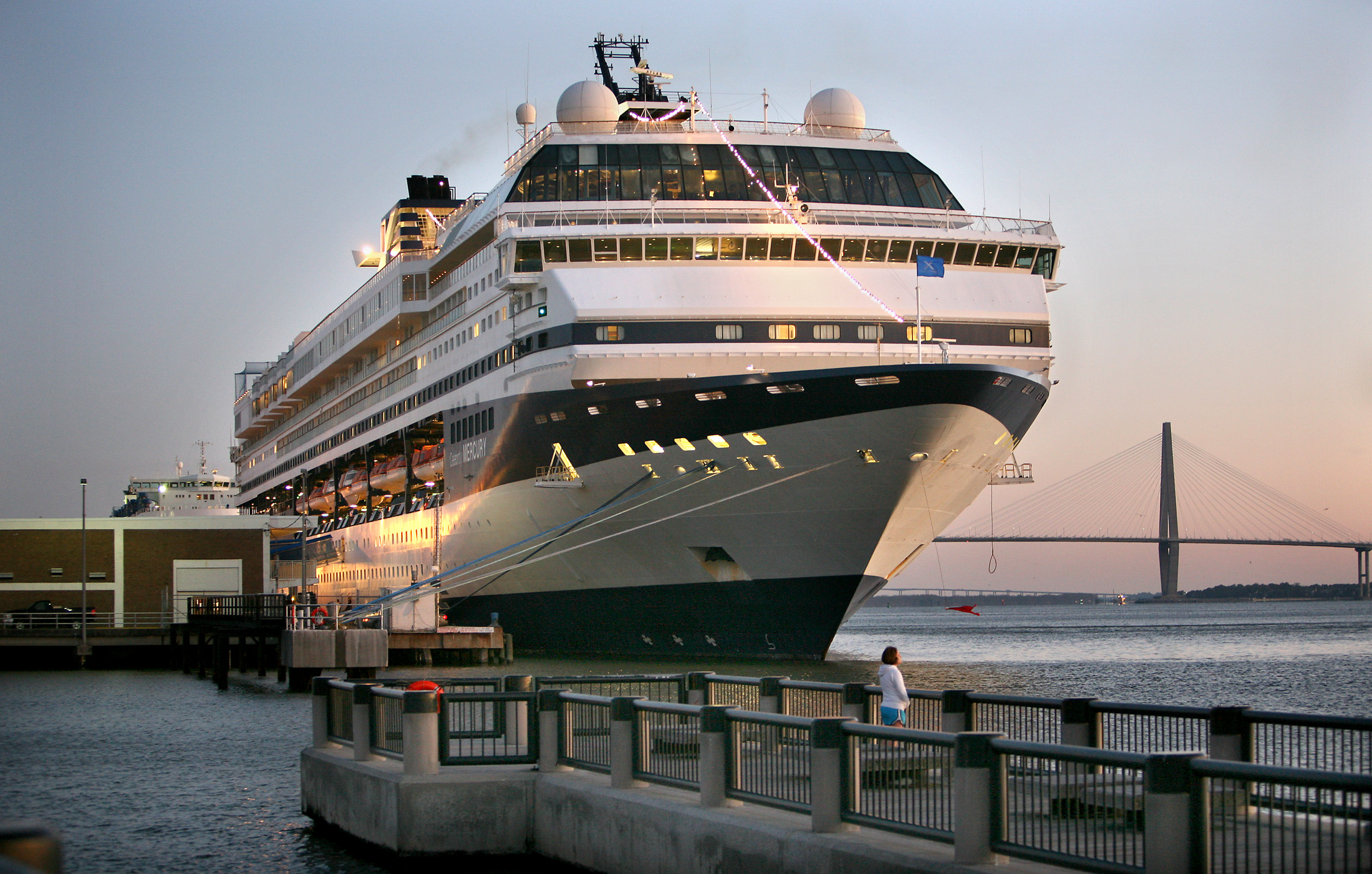 New York Report Cruise Ship Stomach Sickness Becoming Less Common - Cruise out of charleston sc