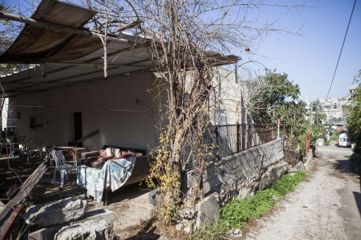In this Tuesday, Jan. 12, 2016 photo, the house where Nashat Milhem the deadly New Year's Day attacker hid is seen in the village of Arara, Israel. (AP Photo/Dan Balilty)