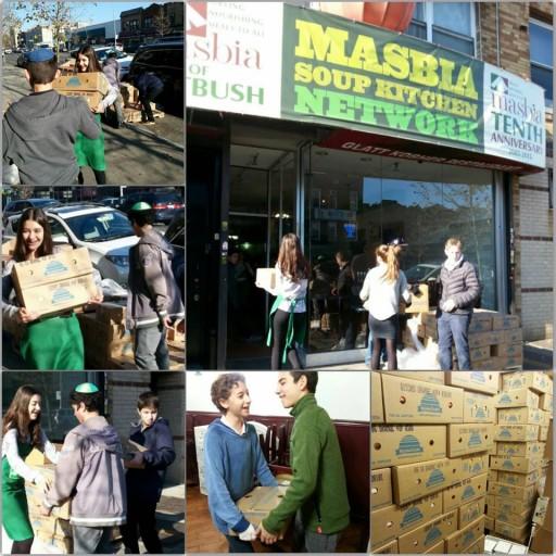 Brooklyn, NY - Snowbound Seniors: Deutsch Distributing Masbia Meals To Homebound Residents Share Tweet Share Mail