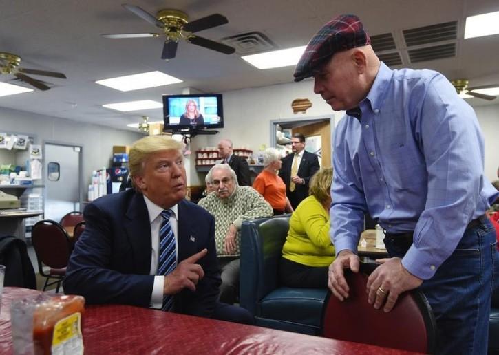 Mount Pleasant, SC - Trump Takes Obama Criticism As Compliment