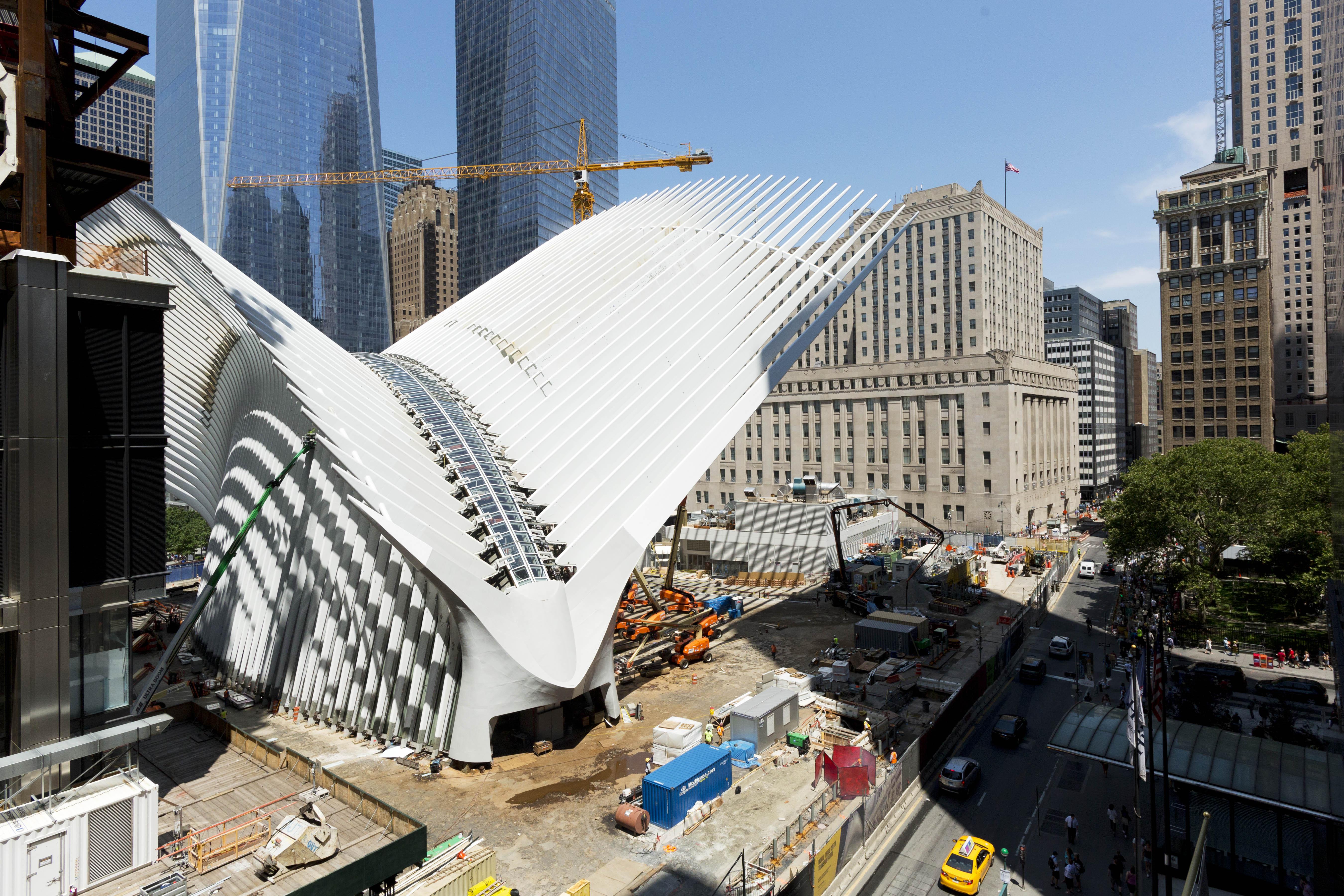 New York World Trade Center Transit Hub Opens Under