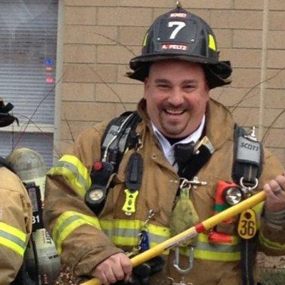 Ramapo fire inspector Adam Peltz
