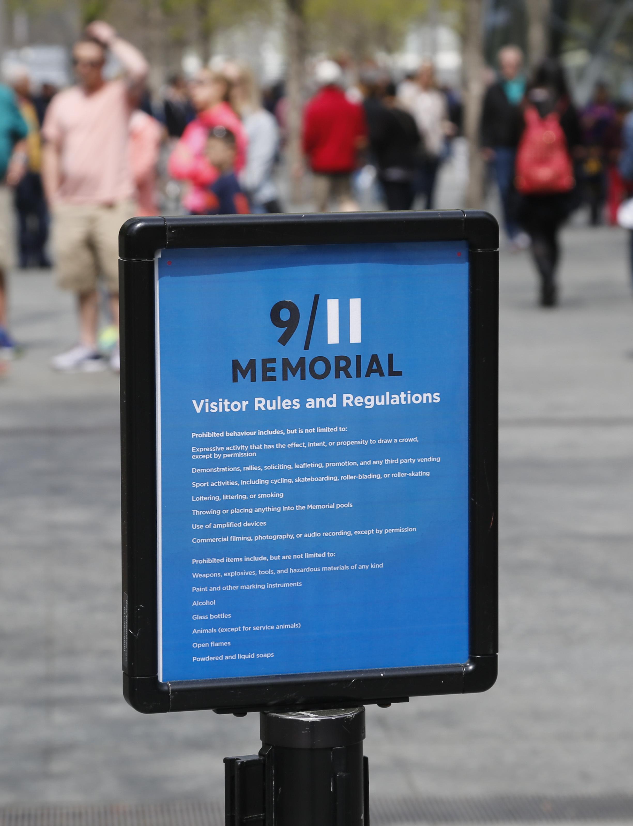 9/11 Memorial: Security Guard Shouldn't Have