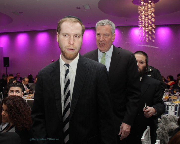 ILE - Jewish adviser to Mayor de Blasio,  Avi Fink. (Shimon GIfter/VINnews.com)