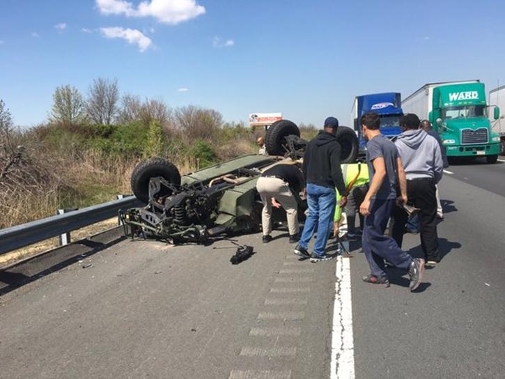 Nj Turnpike Car Crash