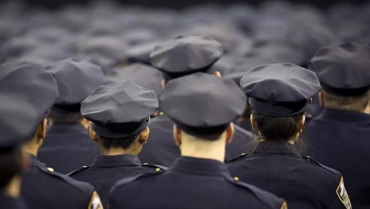 FILE - New York Police Department graduates. Reuters