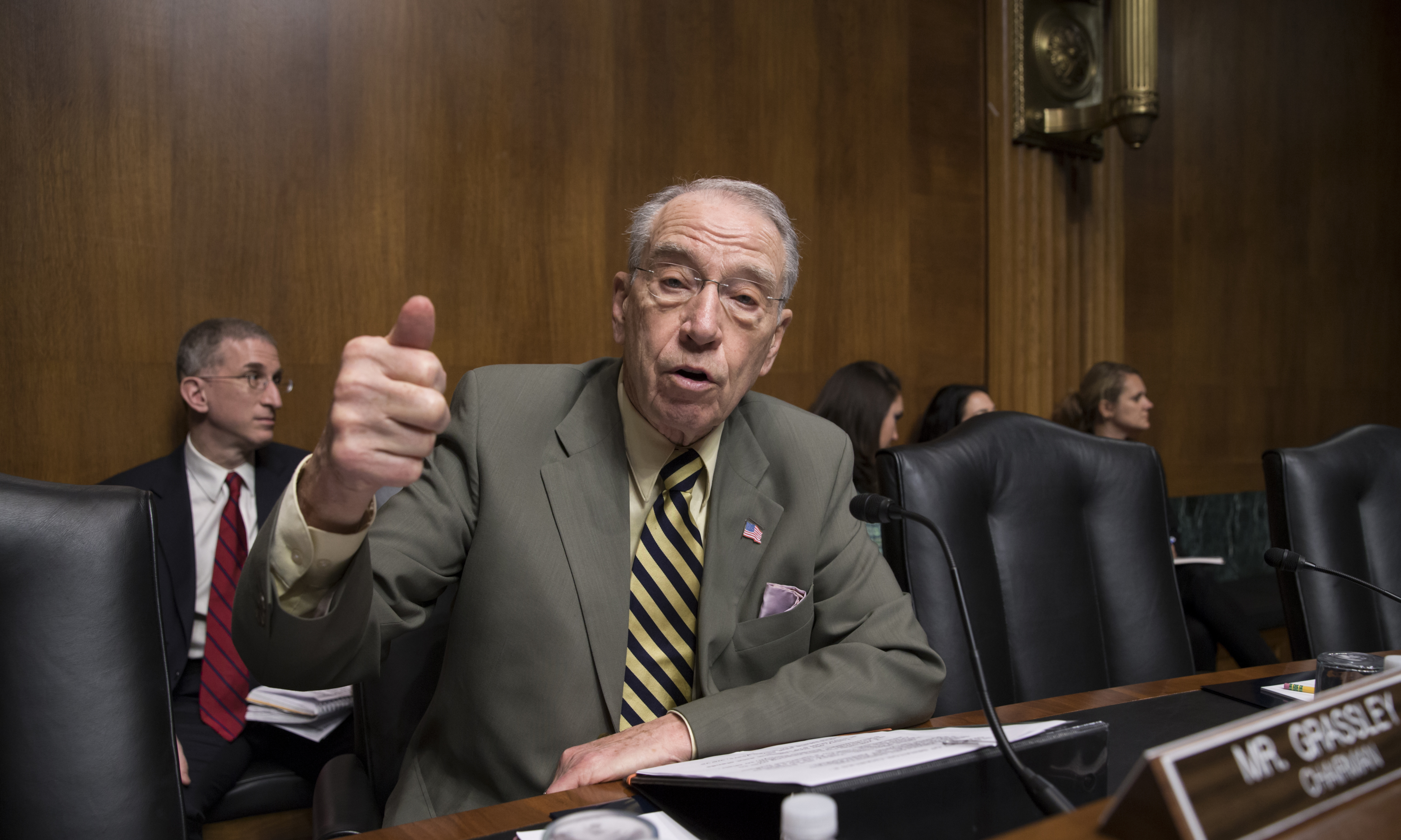 Washington - Senate's Power Brokers Are Aging; Several To Seek New ...