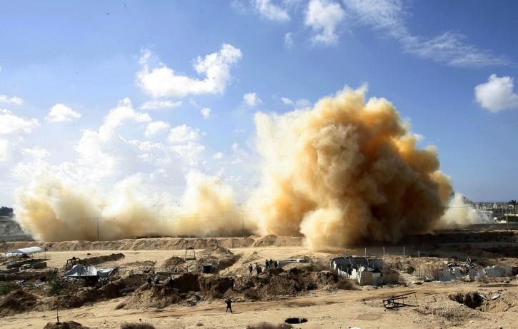 FILE photo illustration -  Gaza Strip explosion