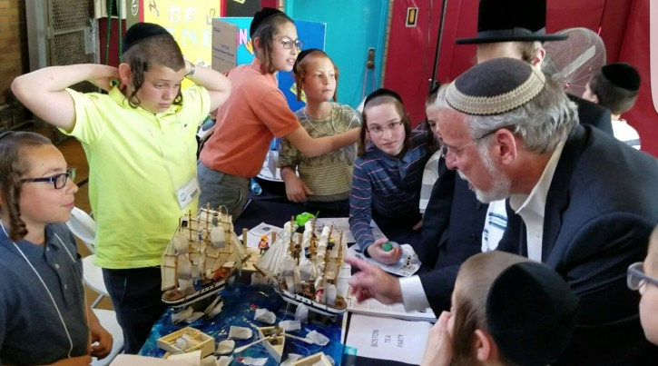 Assemblyman Dov Hikind attending the event