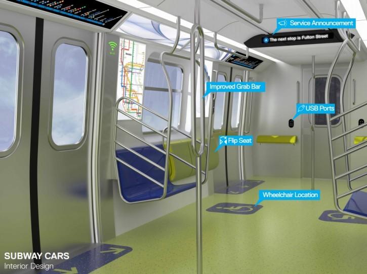 Interior subway design (MTA)