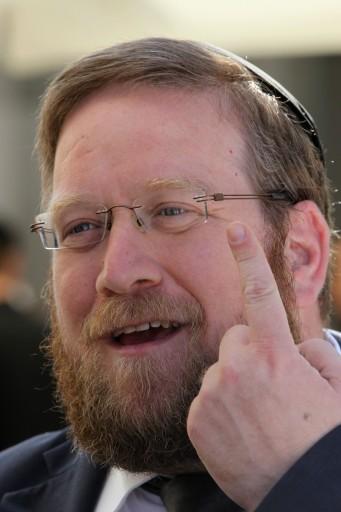 FILE - Deputy Mayor Rabbi Yitzhak Pindrus. May 30 2011. Photo by Nati Shohat/Flash90.