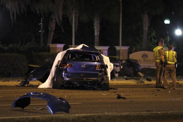 Tampa, FL - Fiery Multicar Crash Kills 5, Including 2 Kids