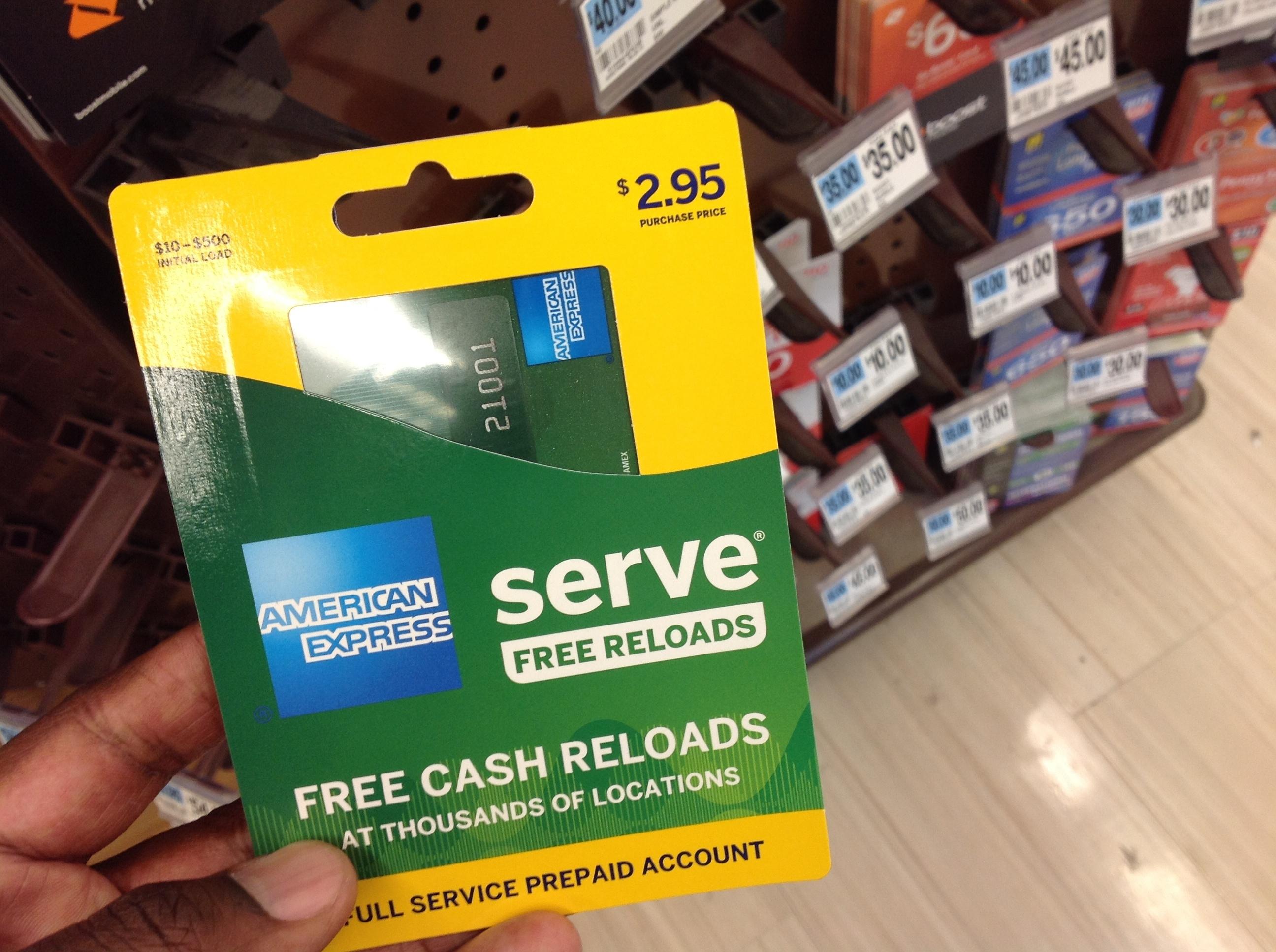 this monday march 7 2016 photo shows an american express serve prepaid - Get A Prepaid Card