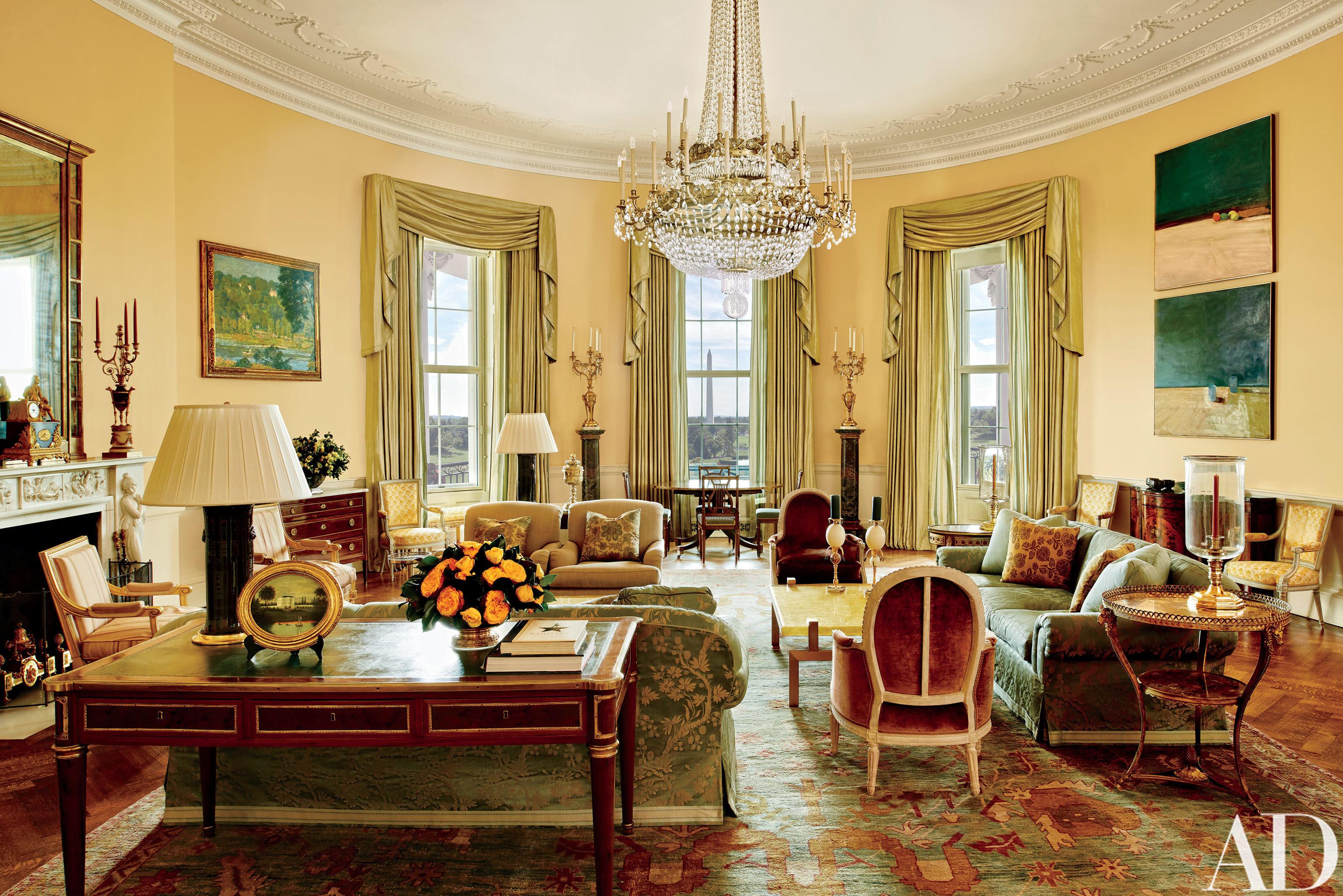 Washington - Obama Reveals Private Living Areas Of White House