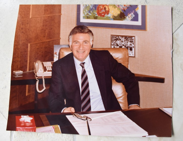 FILE -  In his office in NYC