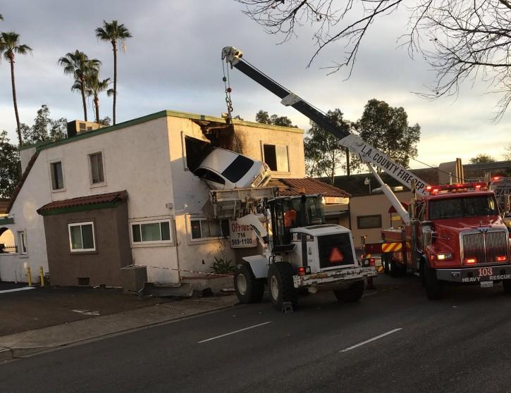 Car Crashes Into Dental Office