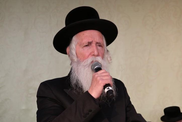 Rabbi Yitzchak Dovid Grossman. Photo by Yaakov Cohen/Flash90