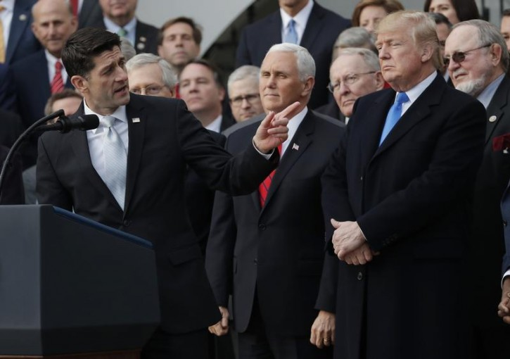 Washington – Trump, Ryan Face Off In Rare Public GOP Clash Over Tariffs