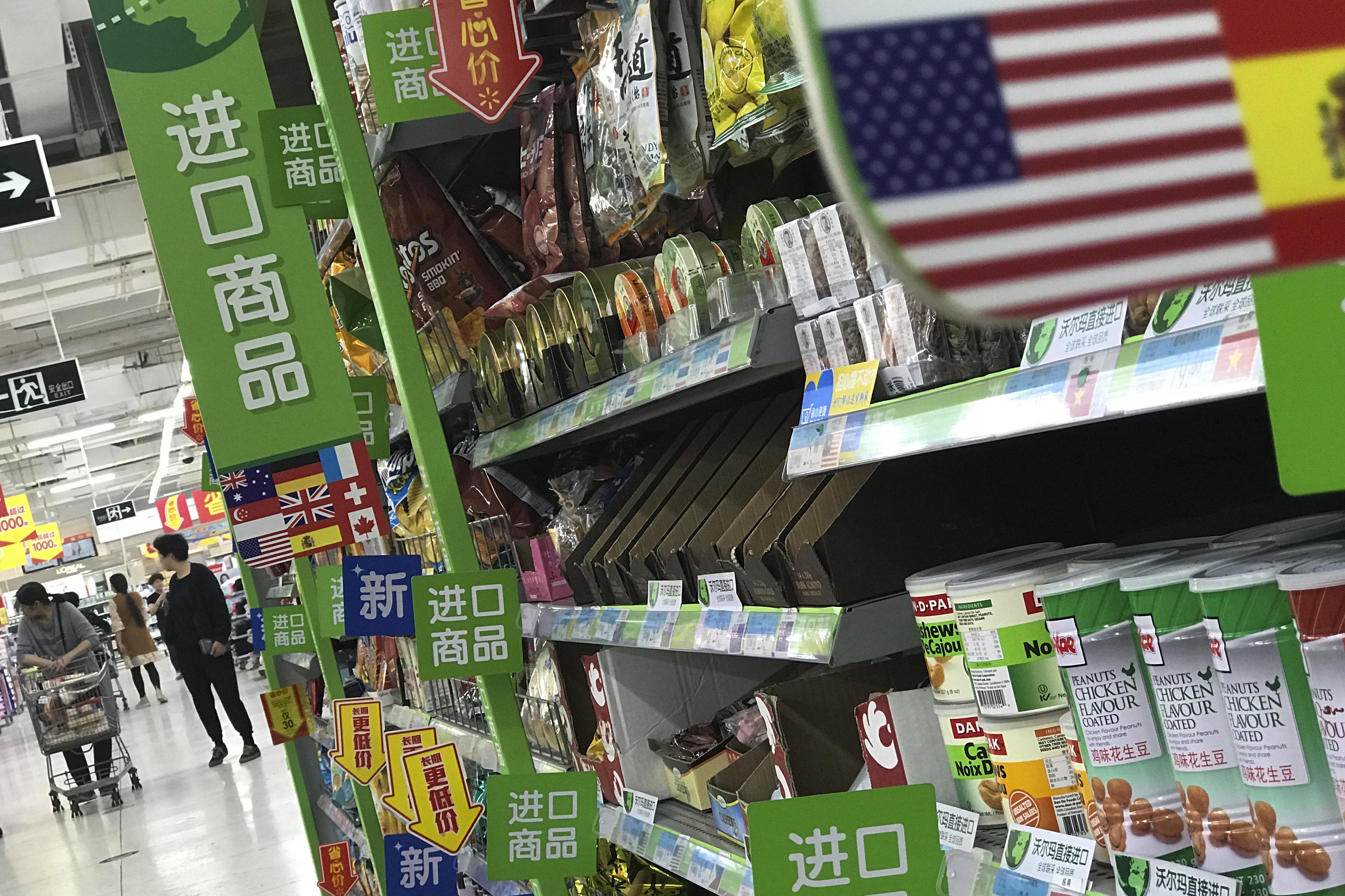 Beijing - China Raises Tariffs On US Food, Fruit In Trade