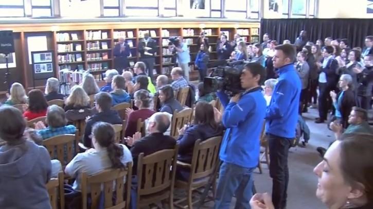 Bellingham, WA – Washington State University Holds Ceremony Replacing Defaced Jewish Books
