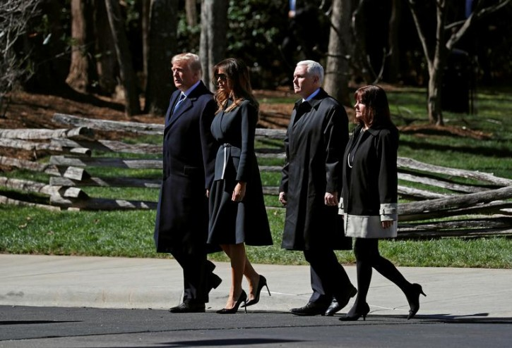 Washington – Pence Says Mrs. Trump's Procedure 'Long-planned'