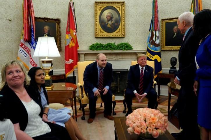 Washington – Freed After 2 Years, Man Jailed In Venezuela Returns To US, Meets Trump