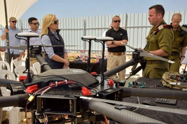 U.S. Homeland Security Secretary Kirstjen Nielsen in Israel
