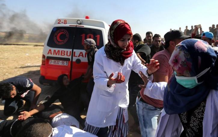 Jerusalem – Israeli Military Says To Probe Killing Of Gaza Nurse