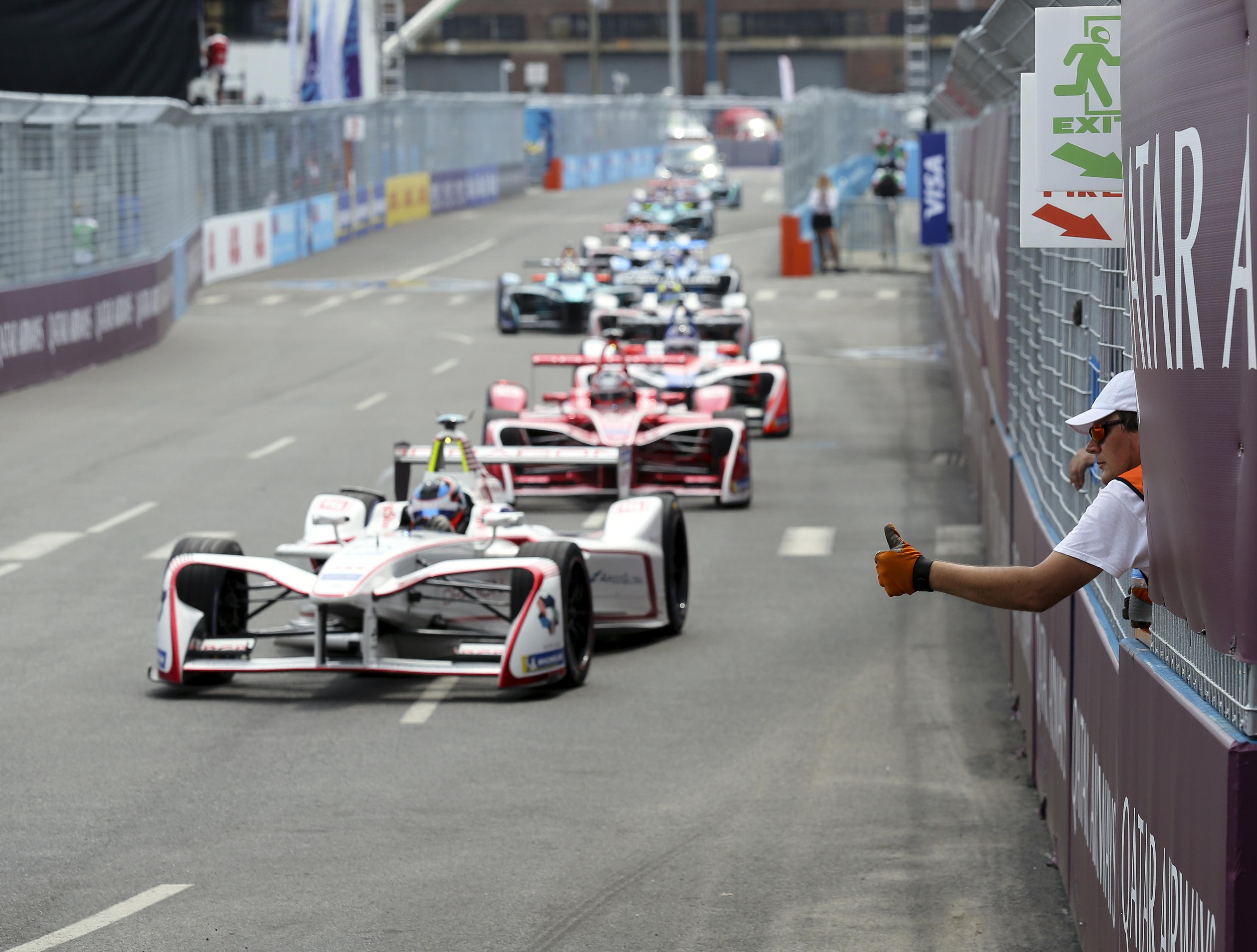 Electric Car Races In Brooklyn