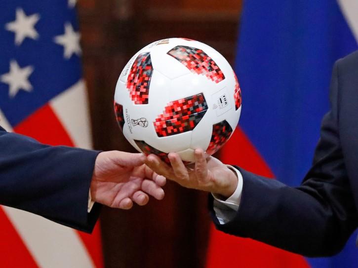 Washington – Adidas: Putin Soccer Ball Gift To Trump May Have Had Microchip