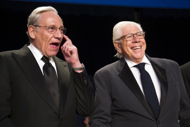 New York – Long After Watergate, Woodward And Bernstein Make News