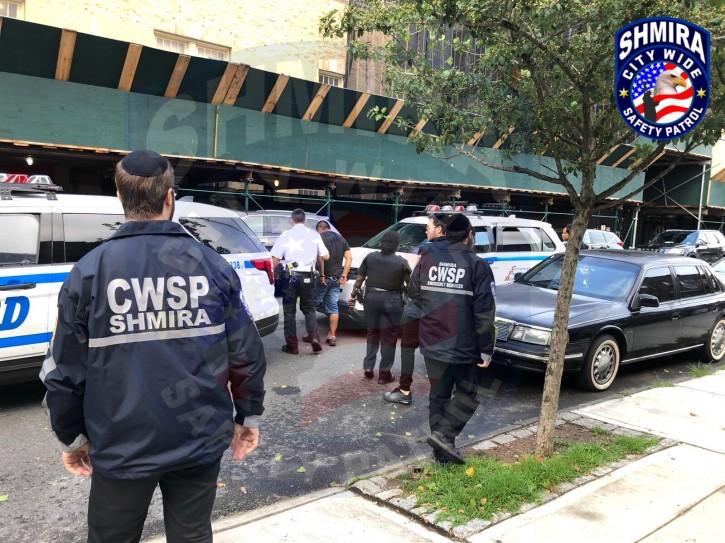 Juan Paulino being arrested.