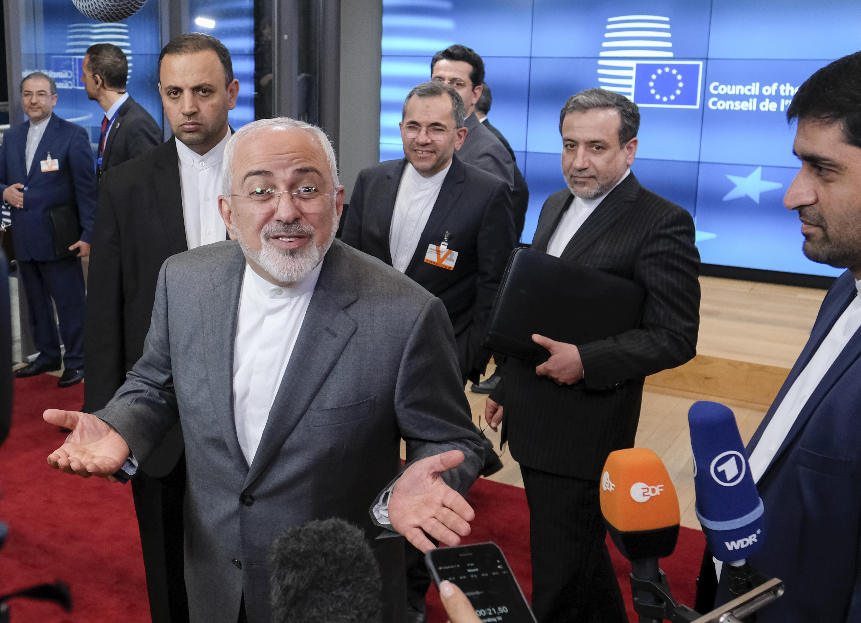 Tehran Irans Zarif Sends Jewish New Year Greetings On Twitter