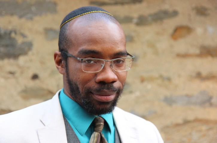 "Shais Rishon's latest book, ""Ariel Samson: Freelance Rabbi,"" tells the story of a 20-something black spiritual leader. (Courtesy of Rishon)"