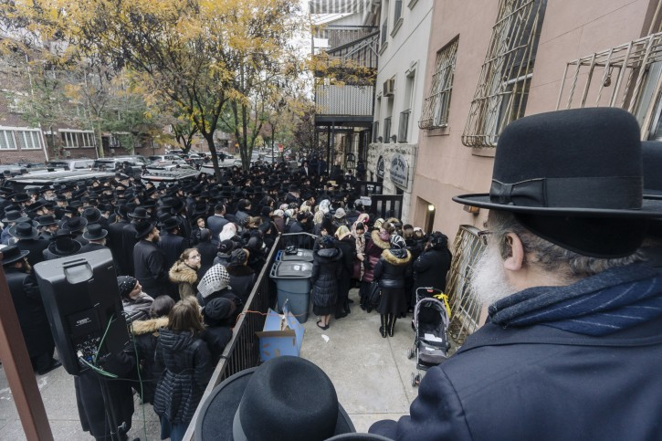 Hundreds turned out this morning at the funeral.