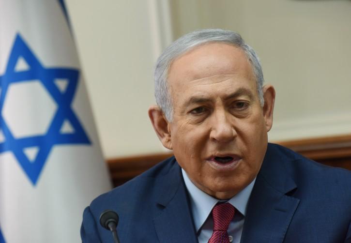 Israeli Prime Minister Benjamin Netanyahu at the Prime Minister's office in Jerusalem, 05 December 2018.  EPA