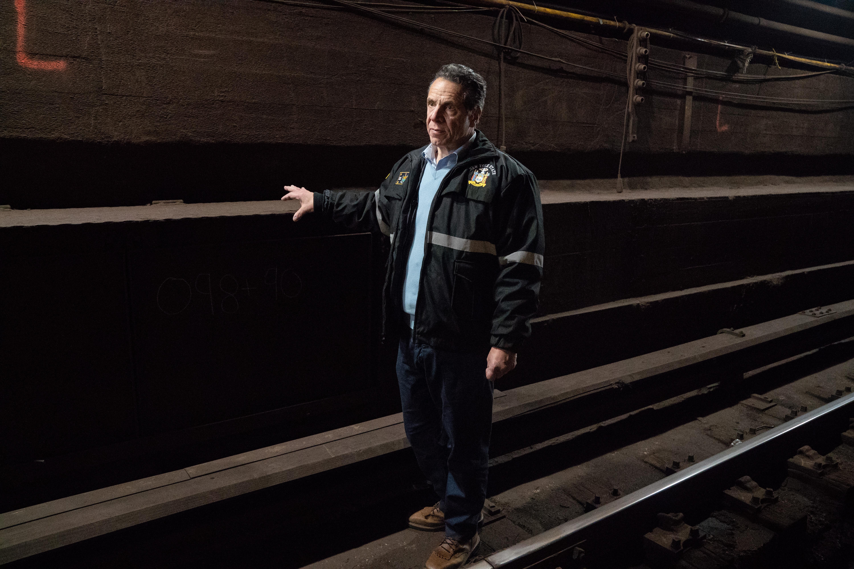Williamsburg, NY - Shutdown Of L Train In Brooklyn Halted By