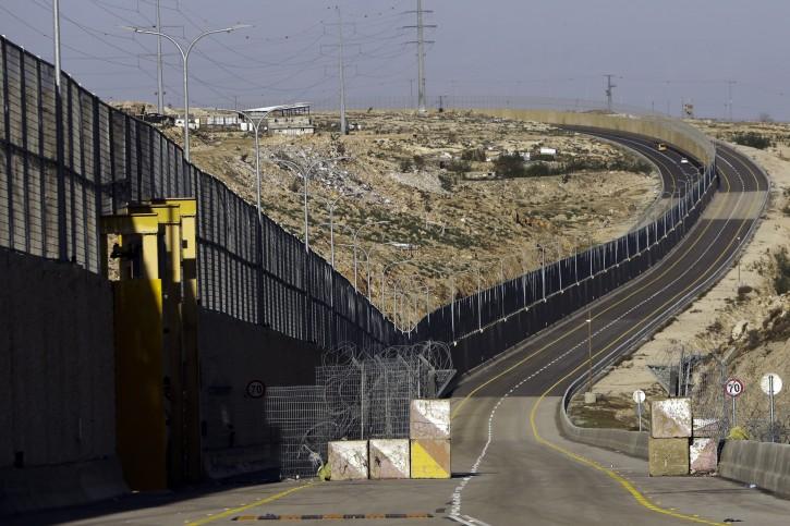 A newly opened segregated West Bank highway is seen near Jerusalem Thursday, Jen. 10, 2019. (AP Photo/Mahmoud Illean)