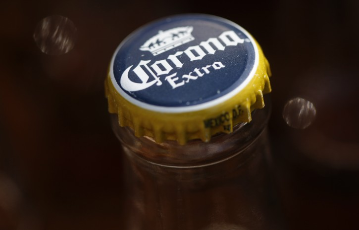 In this Thursday, April 1, 2010, photo Constellation Brands, Inc., products are seen at Susquehanna Beer and Soda including Corona Extra, Negra Modelo, and St. Pauli Girl. (AP Photo/Carolyn Kaster)