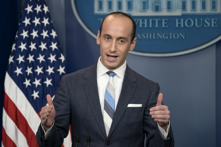 Washington - Book Says Trump Adviser Miller Spoke ...