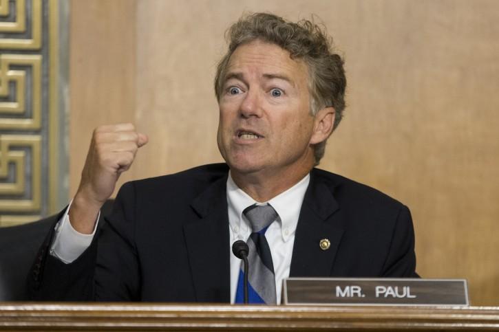 FILE- Republican Senator from Kentucky Rand Paul. EPA