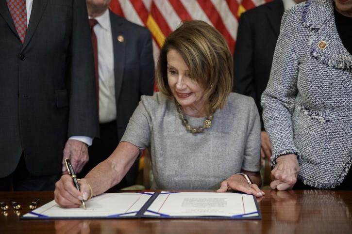 Washington - Pelosi Invites Trump To Deliver State Of The ...