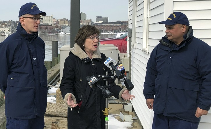 Washington – Republican Sen. Collins Says Would Back Resolution Disapproving Of Emergency