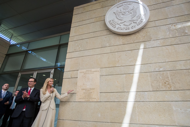 Jerusalem - U S  Palestinian Mission To Merge With Israel