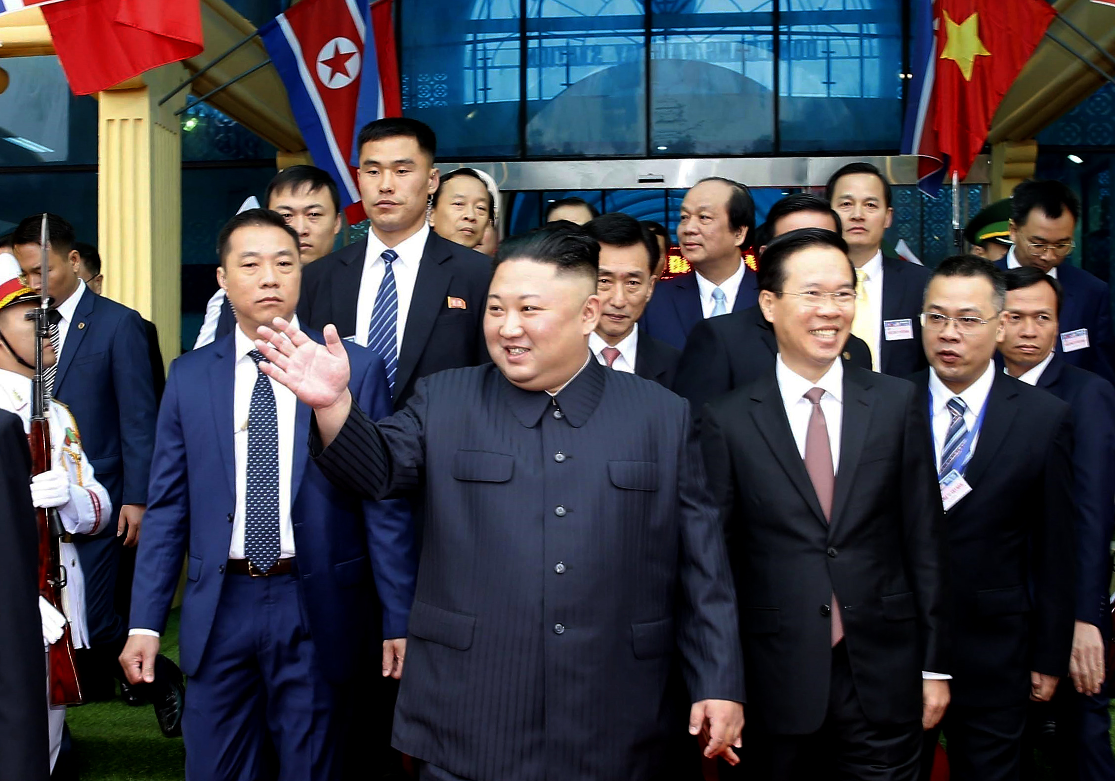 Hanoi - Kim Jong Un Arrives In Vietnam For Summit With Trump