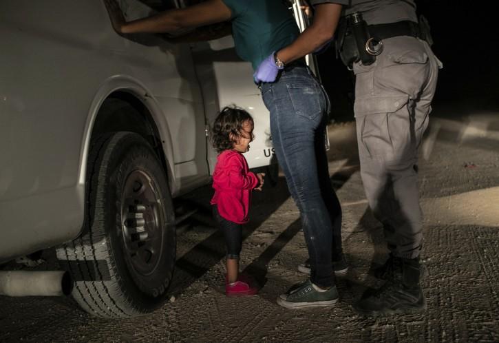 Amsterdam – Image Of Child Crying At Border Wins World Press Photo Award