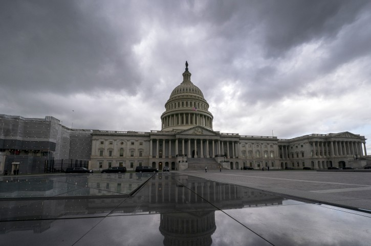 The Capitol is seen in Washington, Tuesday, May 14, 2019. (AP Photo/J. Scott Applewhite)